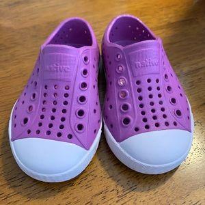 Toddler girl Native shoes